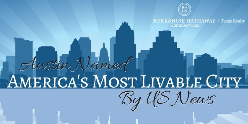 austin named america's most livable city