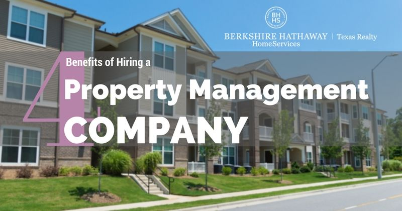 4 benefits of hiring a property management company