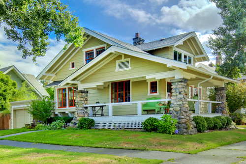 Austin Craftsman Style Homes For