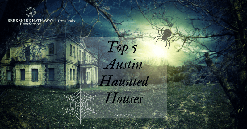 top 5 austin haunted houses
